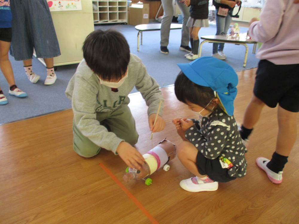 前羽小学校2年生との交流