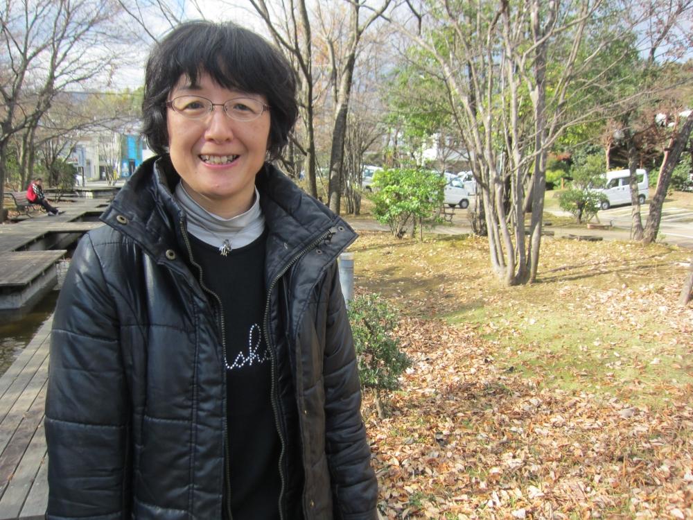 感謝の体験を語る長田美香さん