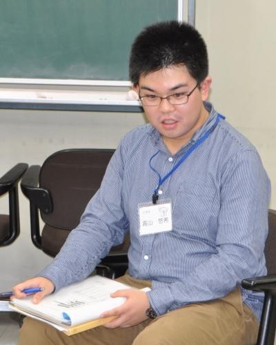 大学生 高山さん
