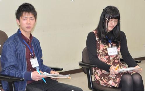 座談会の様子(濱田さん・近藤さん)