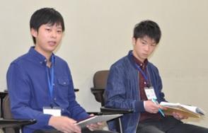 座談会の様子(石井さん、濱田さん)