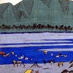 大錦横絵の左側 (部分)