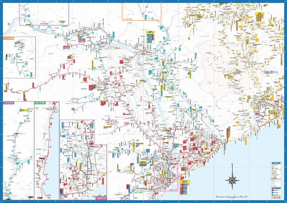 地図面分割図