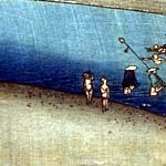 大錦横絵(初摺) 中央の部分