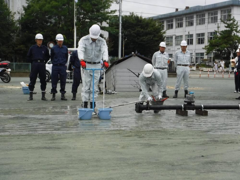 水道管の修復