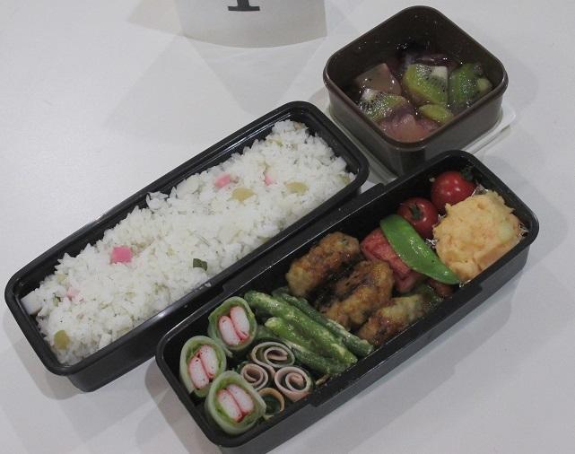 下川さんのお弁当