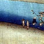 大錦横絵(初摺) 中央部分