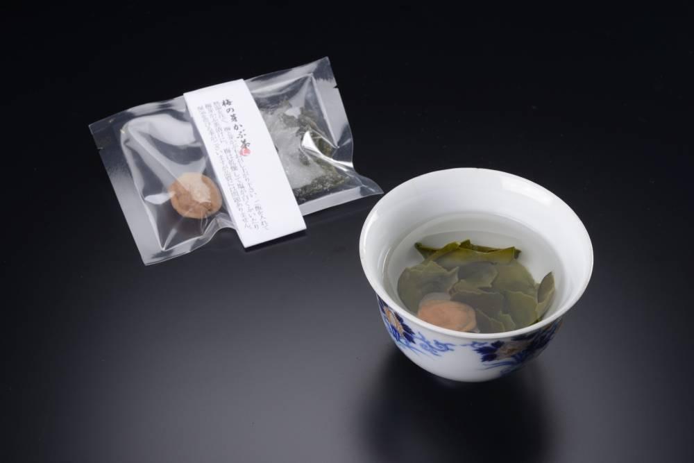 梅の芽かぶ茶