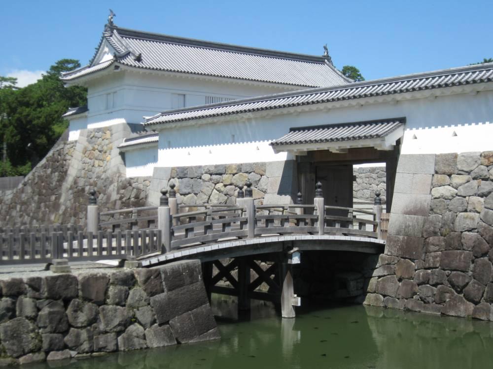保存修理工事前の住吉橋