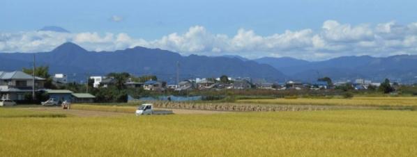 守るべき既存集落と営農環境のイメージ
