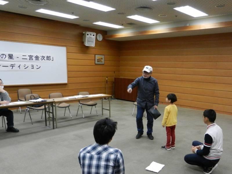 五十嵐監督による演技指導