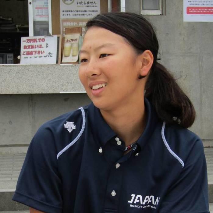 山田選手の写真