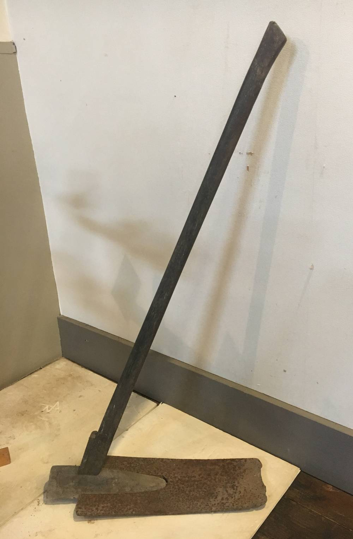 国府津の平鍬(風呂鍬)