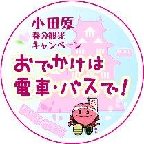 小田原春の観光キャンペーン~おでかけは電車・バスで!~