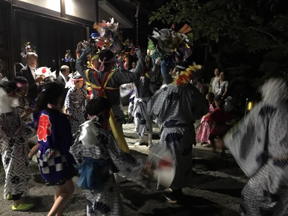 米神の鹿島踊り(2019年5月11日)