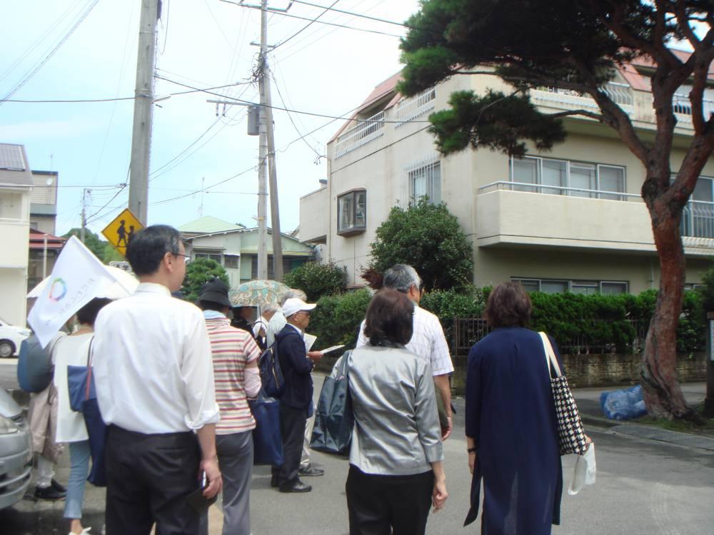 西海子小路周辺を散策