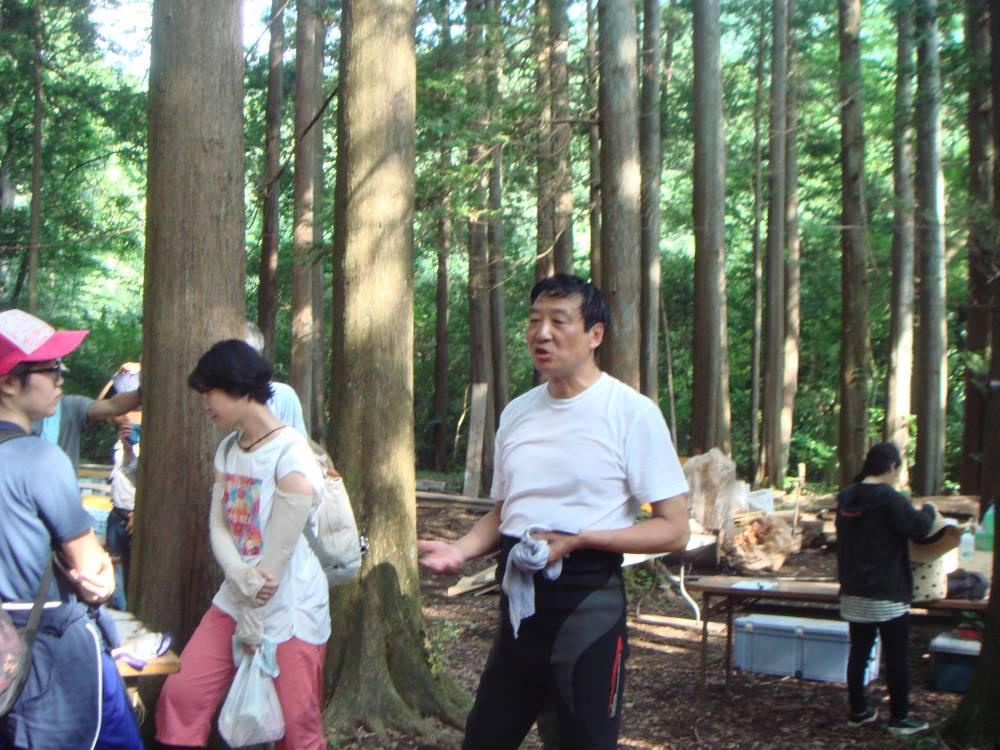 美しい久野里地里山協議会 近藤さんのご挨拶