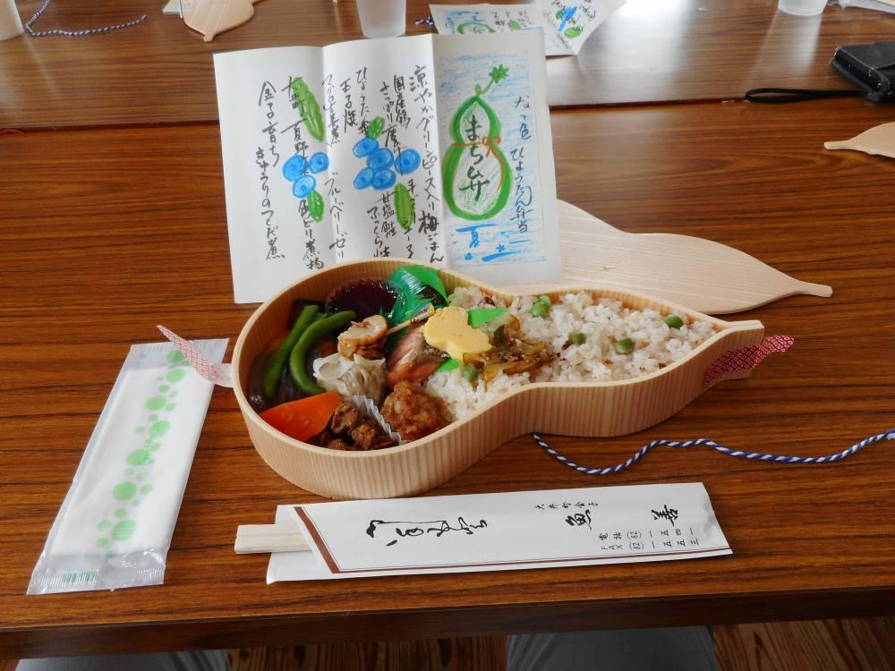 昼休み(とれたて野菜のおおいまち弁当)