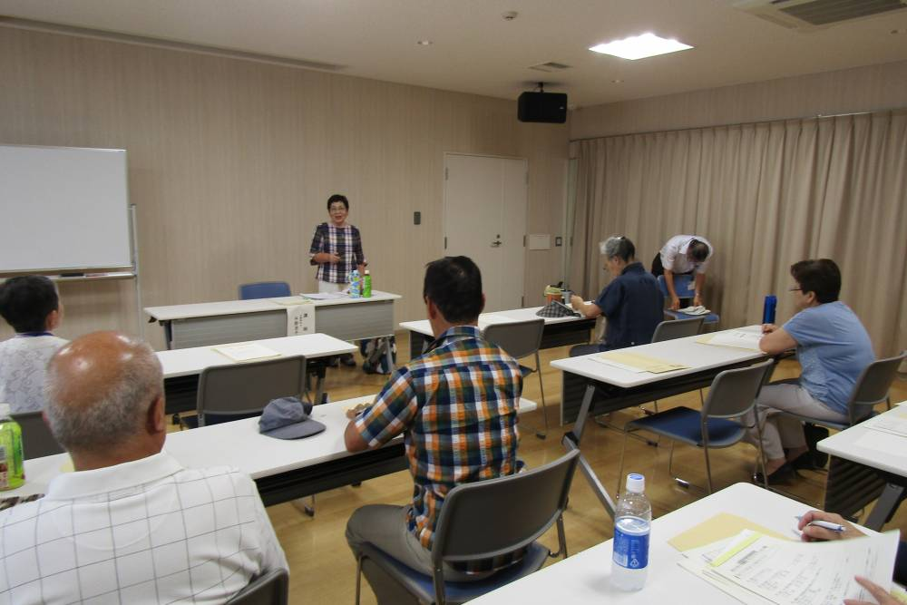平野さんによる講演