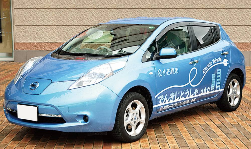 EVを活用した新たな地域交通モデル事業
