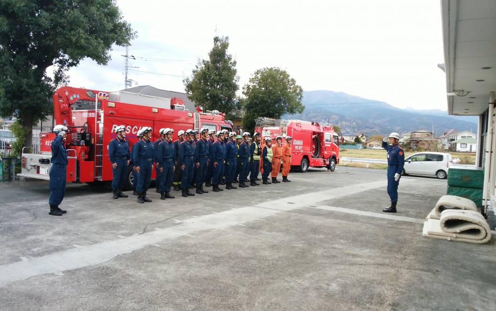 小田原市 | 令和元年 消防署大隊訓練