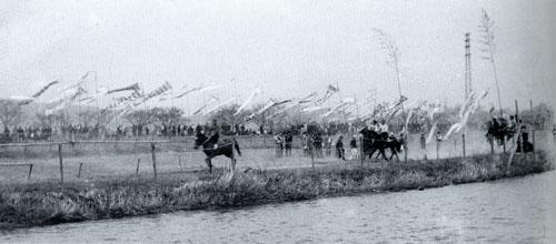 狩川蓮正寺の旗競馬(1)
