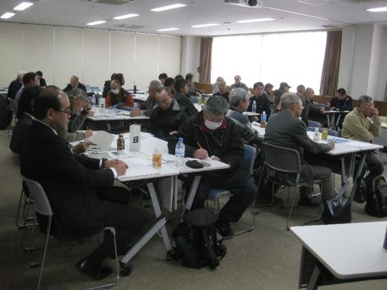 出席者によるグループ討議