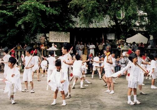 鹿島踊り写真