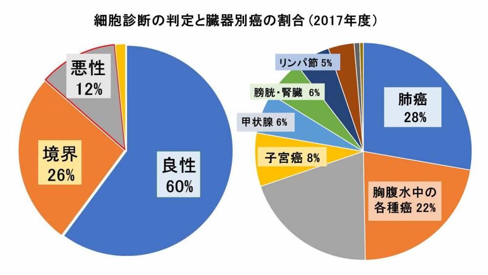 細胞診円グラフ