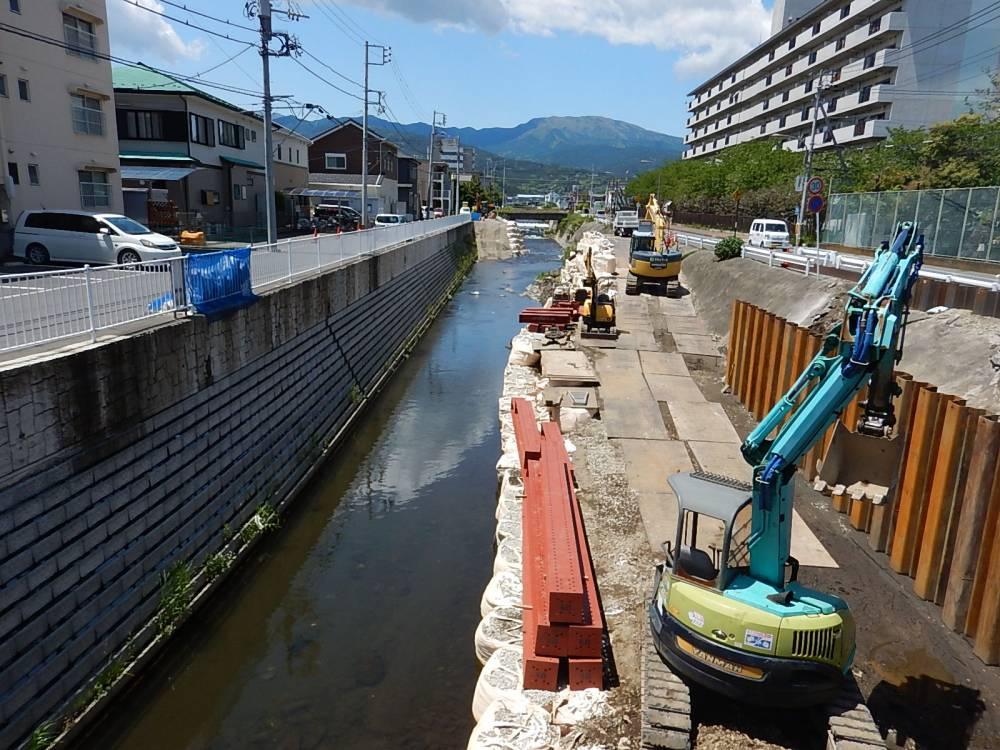 事業区間(富士見橋から上流)