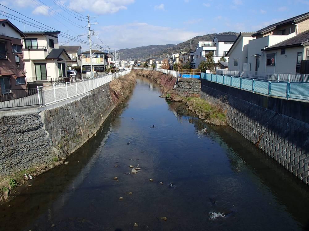 事業区間(天神橋から上流)