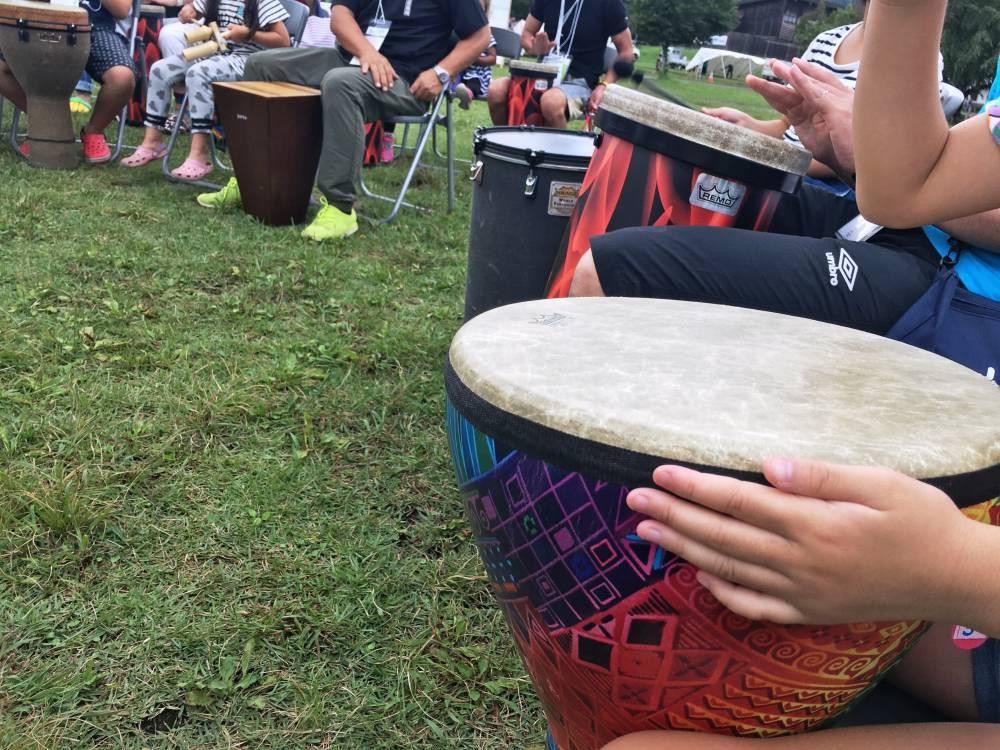 ドラムサークル