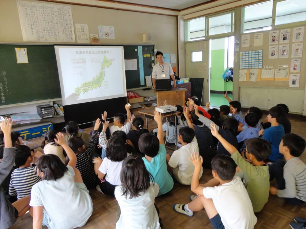 森林教室風景