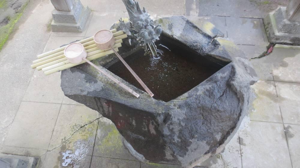 文化年間の手水鉢