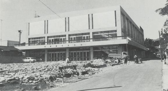 開館当時の市民会館