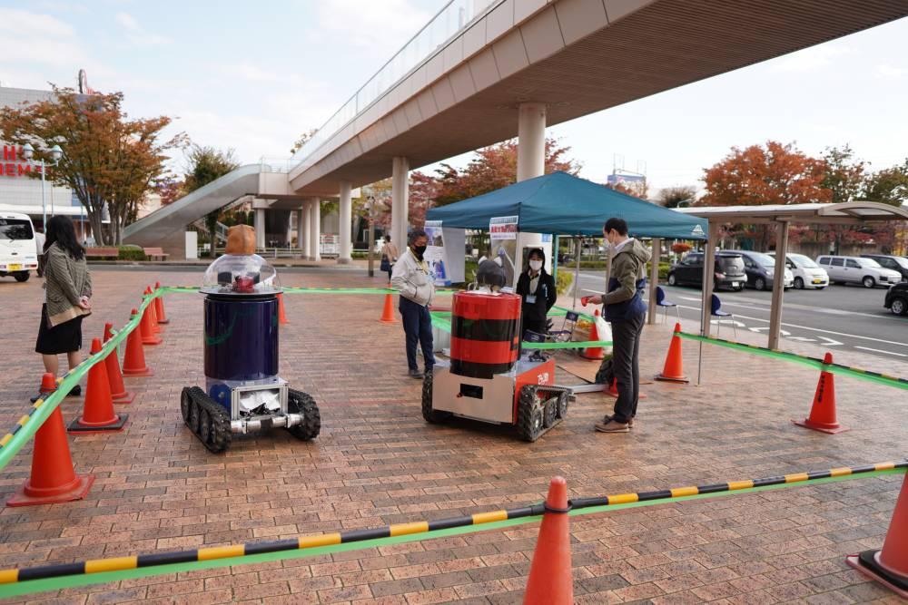 ロボット展示