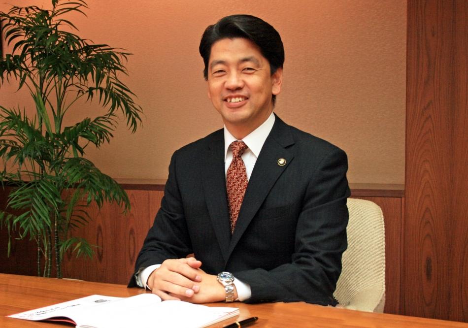 小田原市長の肖像写真
