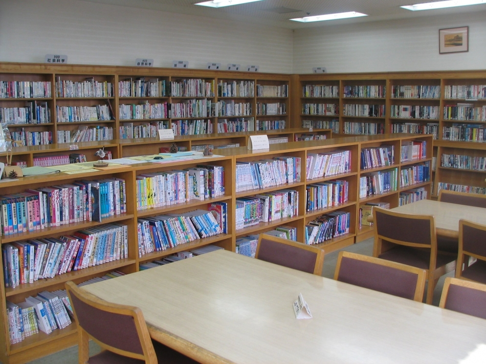 尊徳記念館図書室