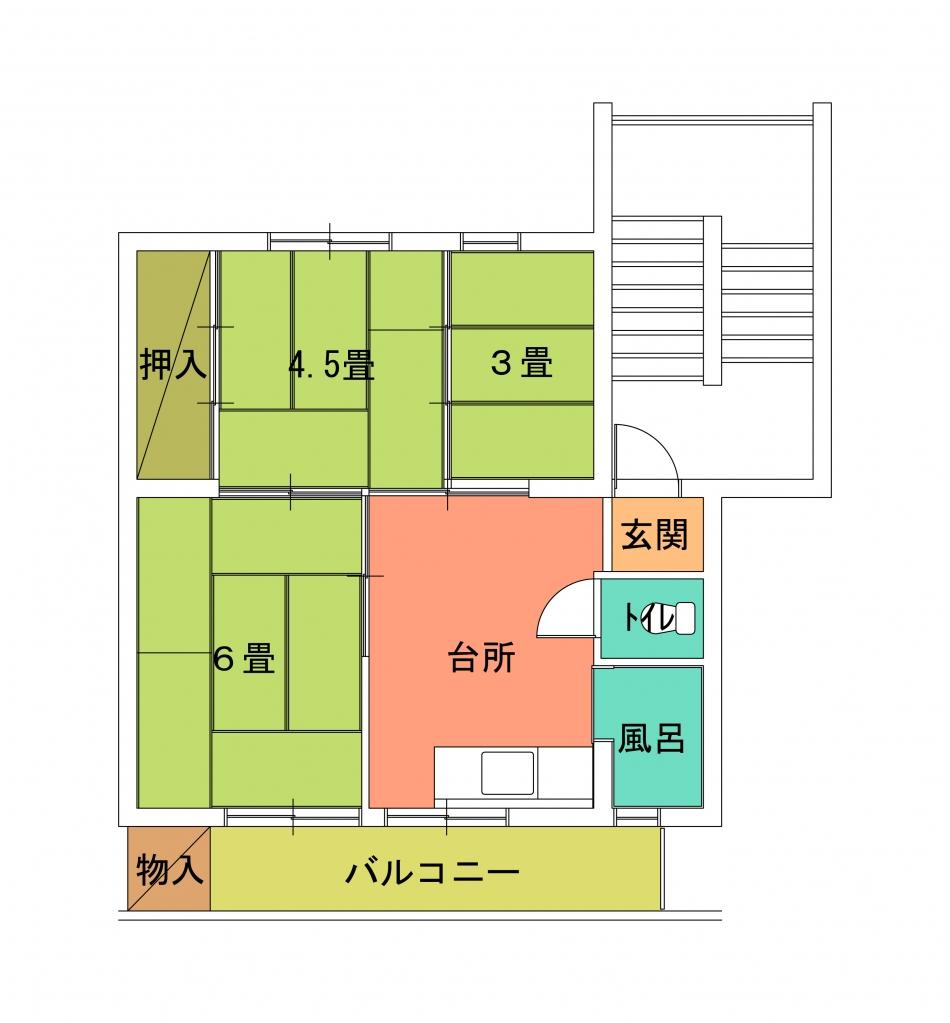螢田住宅(1〜4)