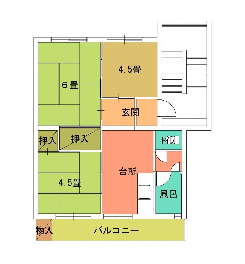 螢田住宅(5〜8)