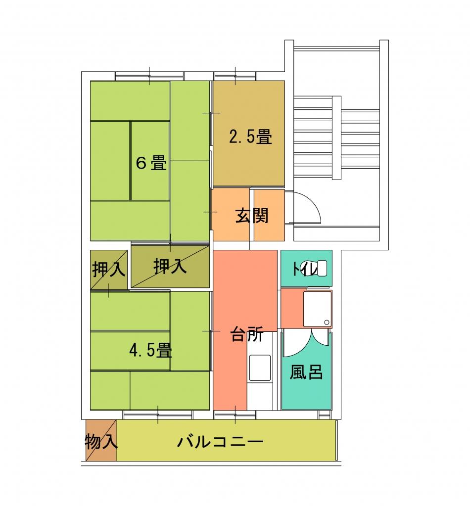 螢田住宅9号棟