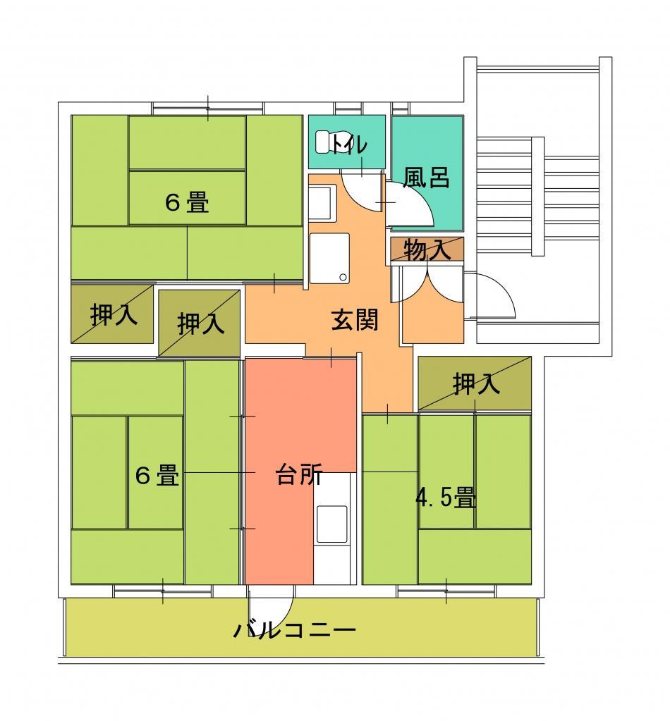 蓮正寺住宅(2〜4)