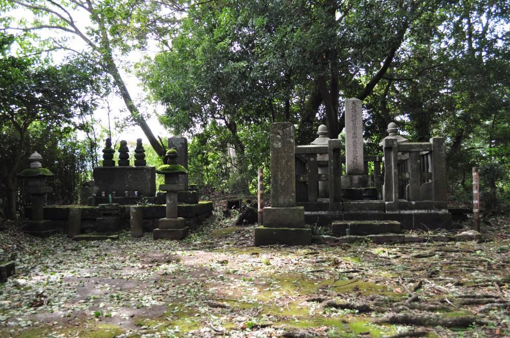 宗閑寺墓所