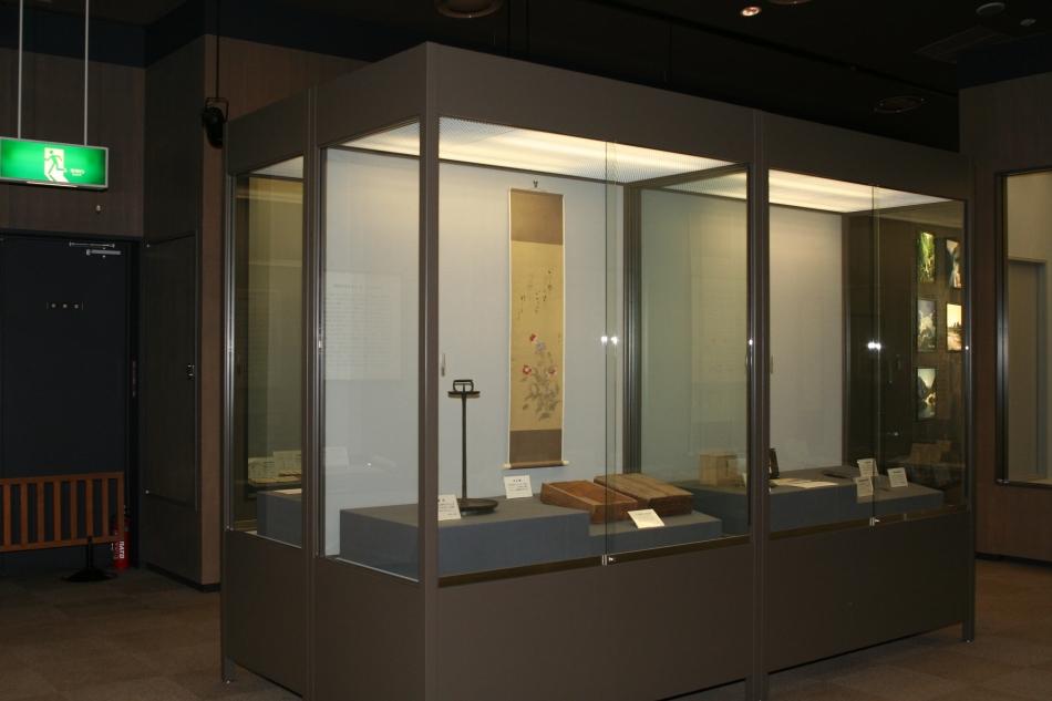 尊徳記念館展示室内