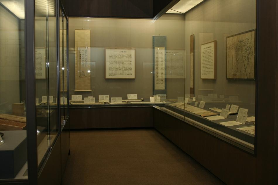 尊徳記念館 展示室内