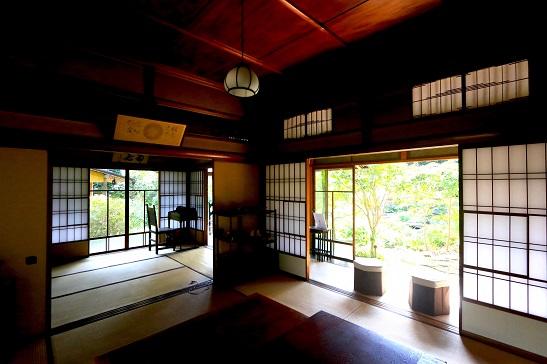 旧松本剛吉別邸:室内