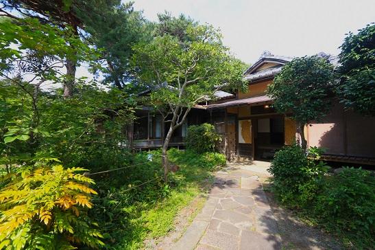 旧松本剛吉別邸:主屋玄関