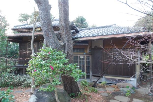 旧松本剛吉別邸:茶室「雨香亭」