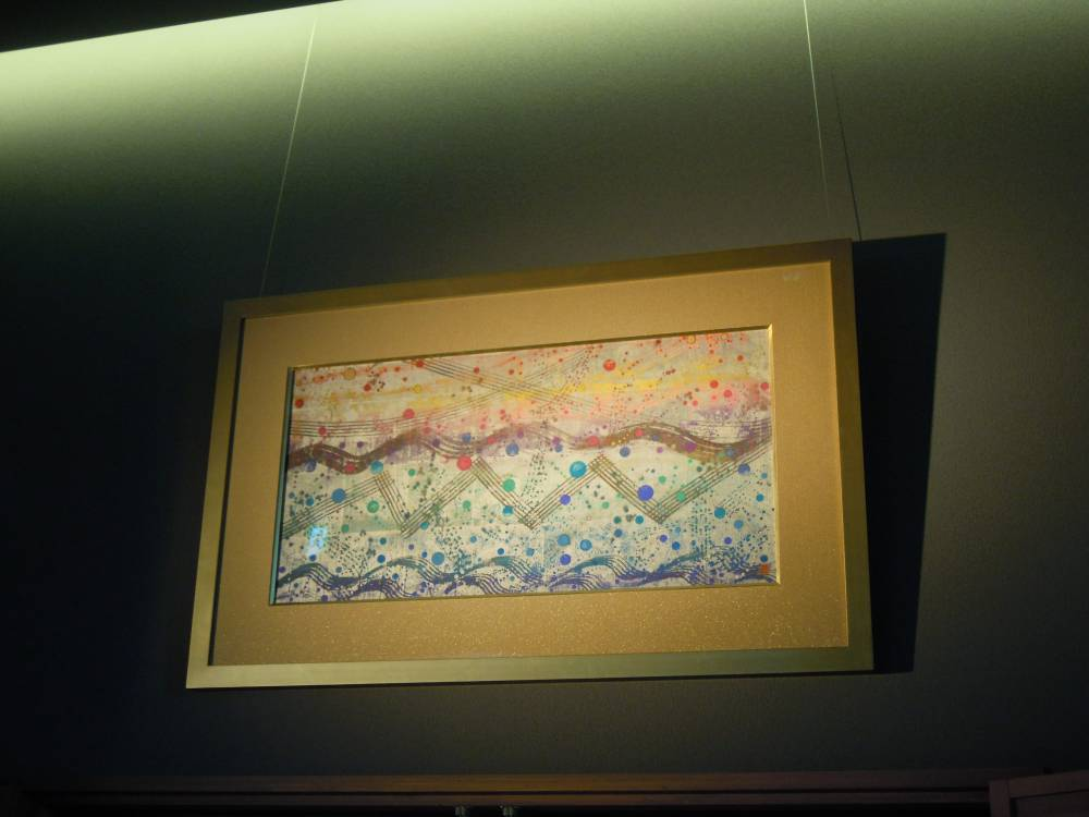 大ホール緞帳の原画