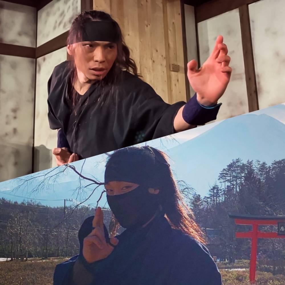 超級動作班with紫忍軍